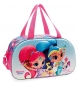 Bolsa de viaje Shimmer and Shine Twinsies frontal 3D -44x25x22cm-