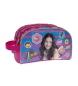 Neceser doble compartimento adaptable a trolley Yo soy Luna rosa -26x12x16cm-