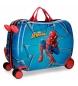 Maleta correpasillos con ruedas multidireccionales Spiderman Black -50x39x20cm-