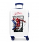 Maleta de cabina Rígida 55cm Spiderman Action -34x55x20cm-