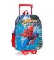 Mochila con carro Spiderman Street -27x33x11cm-