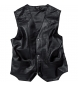 Comprar Spirit Motors Spirit motors leather 1.0 vest, buttoned, black