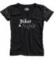 Spirit motors angels camiseta de mujer negro
