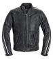 Spirit Motors chaqueta de cuero clásica 2.0 gris