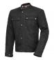 Spirit Motors estilo retro chaqueta textil 1.0 negro
