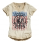 Spirit motors lady camiseta 2.0 beige