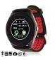 Compar Tekkiwear by DAM Brazalete smartwatch Bluetooth AK-V10 negro, rojo