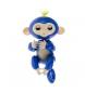 Compar Tekkiwear by DAM Interactive Blue Smart singe poupée doigt