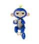 Compar Tekkiwear by DAM Muñeco interactivo Finger Monkey Smart azul