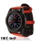 Smartwatch G8 DMX026 negro, rojo