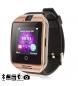 Smartwatch Q18 negro, bronce