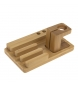 Comprar Tekkiwear by DAM Stand in legno 3 smartphone, 3 penne e di tariffazione basato iWatch.