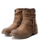 Comprar Xti Bota plana tornozelo 033965 camelo