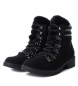 Comprar Xti Bota plana ankle lace 048377 preto
