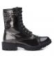 Compar Xti Flat ankle boot lace 048380 lead