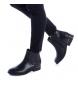 Comprar Xti Bota plana de tornozelo 048617 preto - Calcanhar de salto: 3cm-