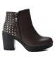 Compar Xti Heel boot 048456 gray - Heel height: 8cm-