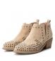 Comprar Xti Booty wide heel cow boy 048949 beig -Heel height: 5cm