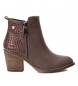 Compar Xti Boot heel cow boy 048249tau taupe