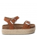 Compar Xti Kids Sandal 056864 camel - Platform height: 4cm