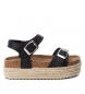 Compar Xti Kids Sandalia 056864 negro -Altura de la plataforma: 4cm-