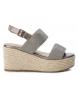 Compar Xti Sandal 049065 lead -High platform: 10cm