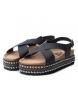 Comprar Xti Black flat sandal