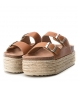 Comprar Xti Flat bios sandal 048119 camel