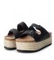 Comprar Xti Flat sandal bios 048119 black - Platform height: 8cm-