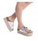 Comprar Xti Silver flat bios sandal