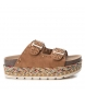 Sandalia 049109 camel -Altura plataforma: 5cm-