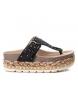 Sandalias 049110 negro -Altura plataforma: 5cm-