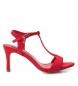 Comprar Xti Sandalia tacón fino 034072 rojo -Altura tacón: 8cm-