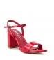 Comprar Xti Sandálias salto largo 032033 vermelho - Altura do calcanhar: 8cm