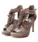 Comprar Xti Sandal 032077 taupe -heel height: 10cm