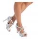 Comprar Xti Sandals 035026 silver -heel height: 10cm