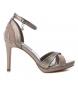 Compar Xti Sandales 035057 bronze - hauteur talon : 10cm