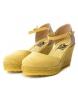 Xti Sapato 048941 amarelo - Altura da cunha: 7,5 cm