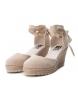 Comprar Xti Alpargatas wedge other medium 034109 beige - Wedge height: 8cm