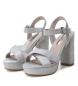 Comprar Xti Shoe heel 030751pla silver