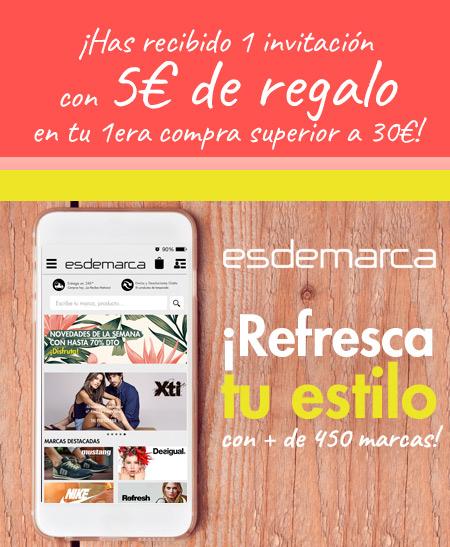 Únete Gratis a Esdemarca.com, cada día más de 3 marcas nuevas