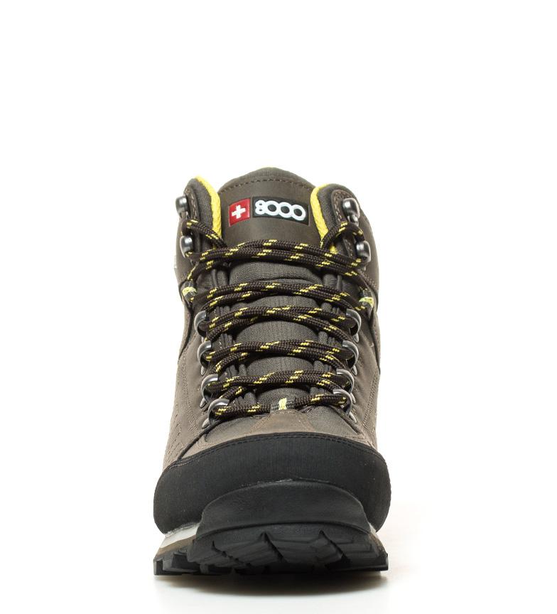 + 8000 Botas de trekking Tracor caqui Membrana waterproof Skintex
