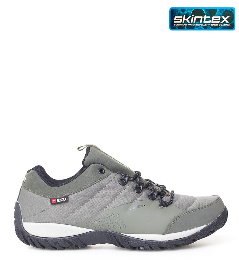 Comprar + 8000 Tamal kaki trekking sneaker - Skintex waterproof membrane