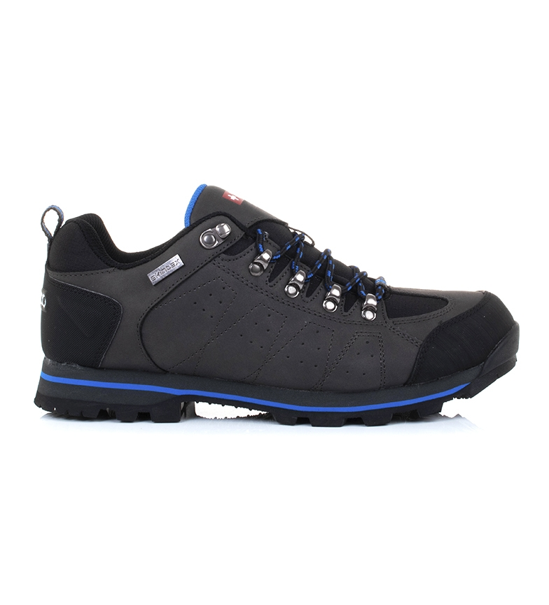 Comprar + 8000 Trekking shoes Tracor Low dark gray - Skintex waterproof membrane-