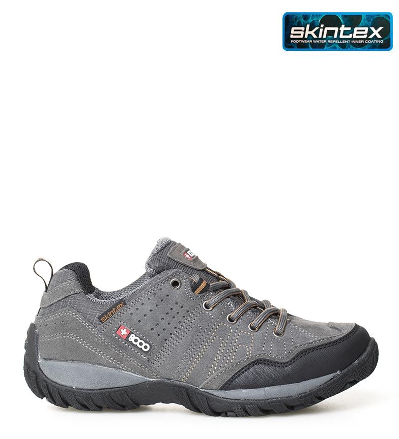 Comprar + 8000 Zapatillas trekking Tasmu 19V gris -Membrana waterproof Skintex-