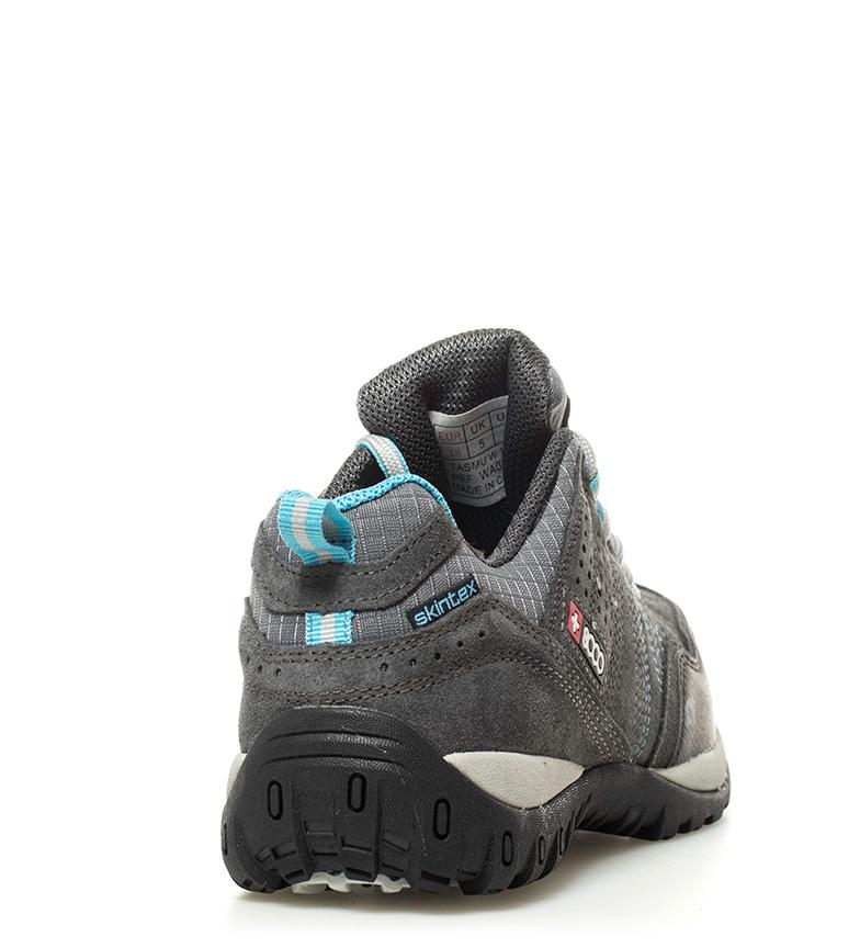 Zapatillas gris trekking b Skintex waterproof b 8000 Tasmu medio Membrana PgqxAH5wA