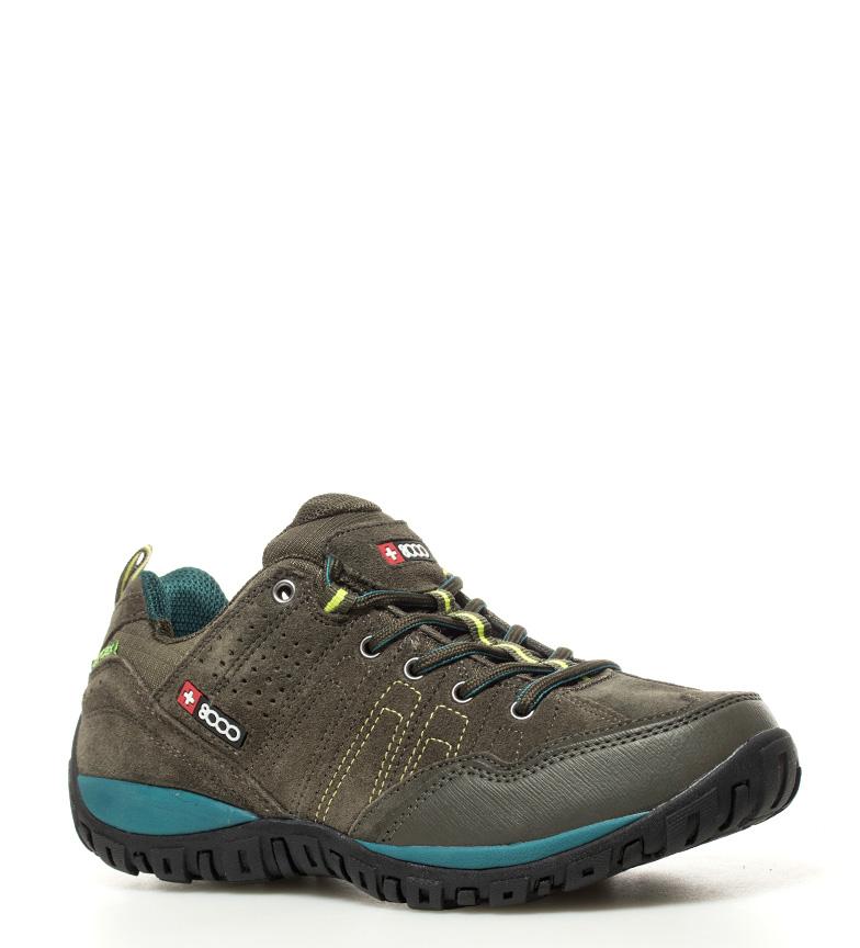 + 8000 Zapatillas trekking Tasmu kaki Membrana waterproof Skintex