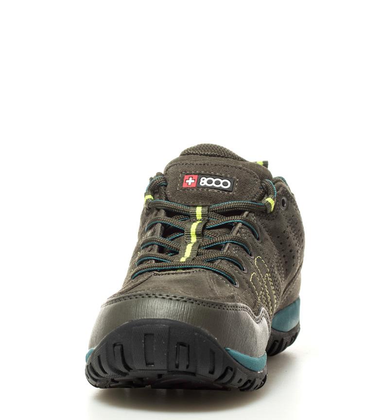 8000 trekking Zapatillas kaki Membrana waterproof b b Tasmu Skintex pRrfqpw