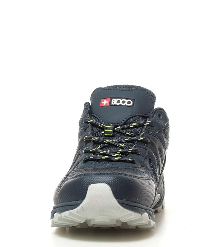 + 8000 Zapatillas trekking Telmo marino Membrana waterproof Skintex