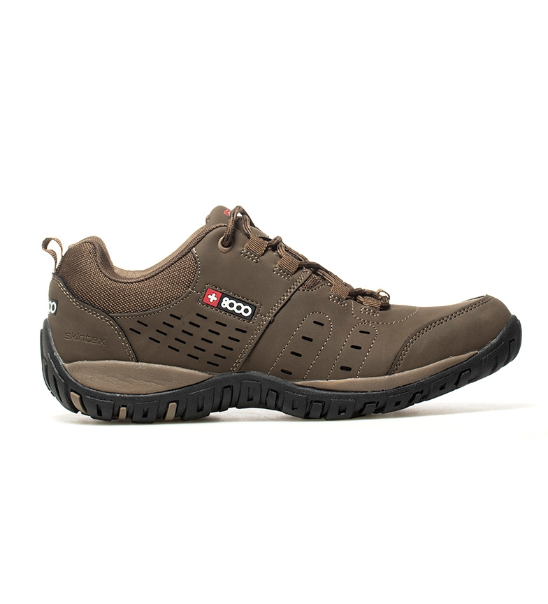 Comprar + 8000 Trekking shoes Termux brown-Skintex waterproof membrane-